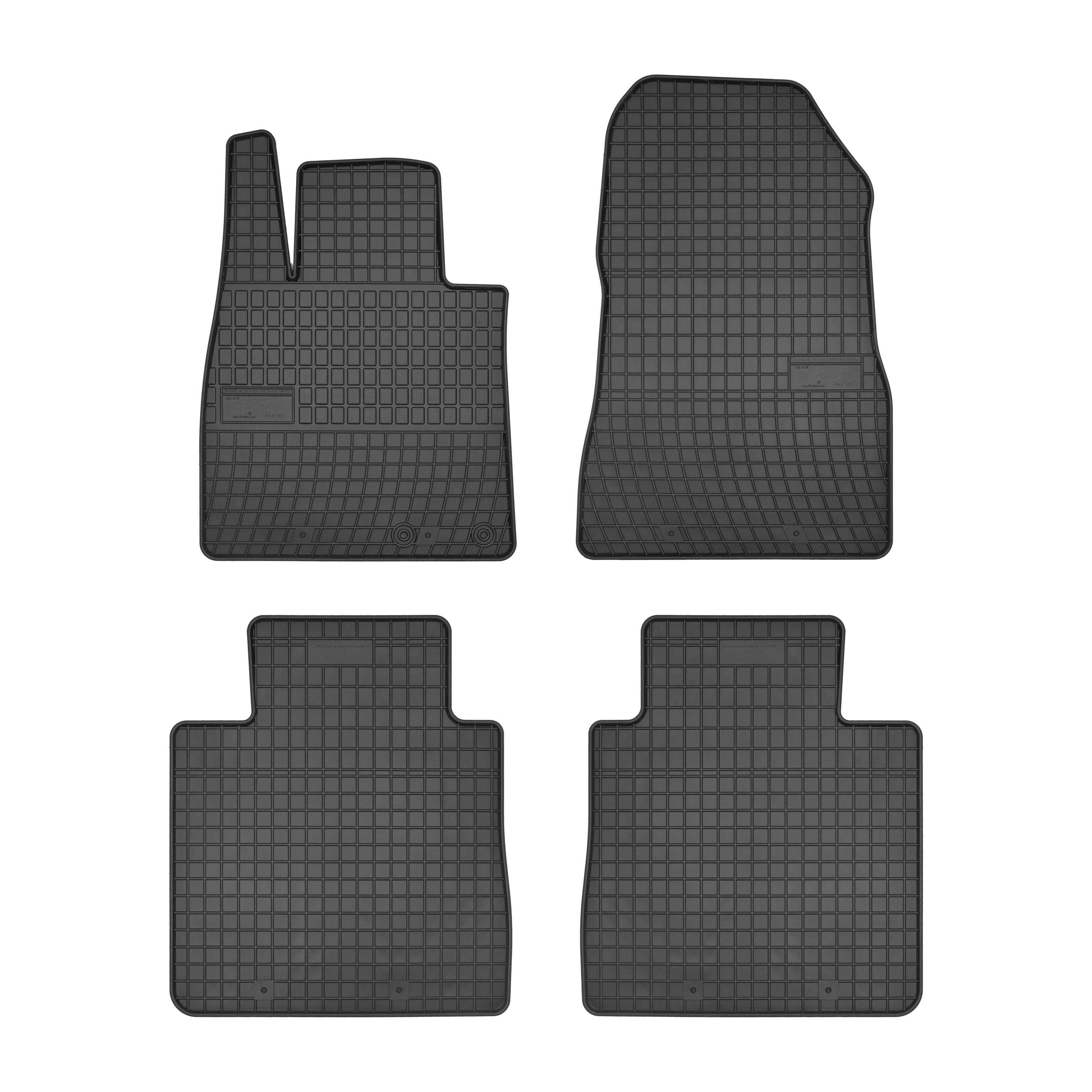 Πατάκια αυτοκινήτου NISSAN NOTE  2013+ ΛΑΣΤΙΧΟ-  0456