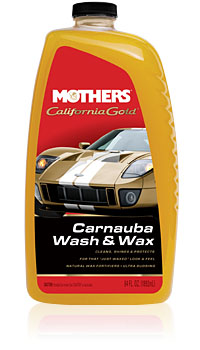 Σαμπουάν με κερί Carnauba wash & wax Mothers