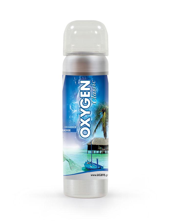 ΑΡΩΜΑΤΙΚΑ ΑΥΤΟΚΙΝΗΤΟΥ OXYGEN CLASSIC Spray PARADISE