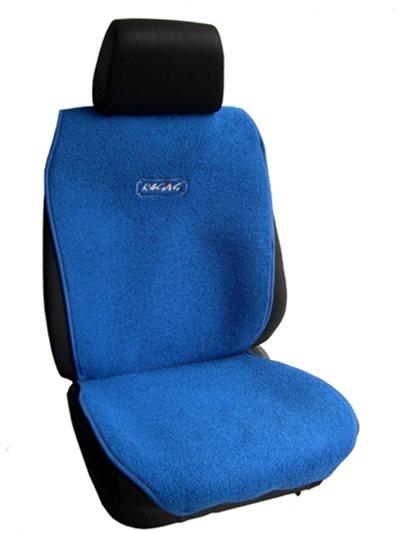 Πλατοκάθισμα Αυτοκινήτου Πετσέτα Μονόχρωμη Coverstyle, Μπλε, 2 τμχ