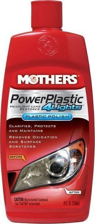 Καθαριστικό φαναριών Power plastic 4lights Mothers