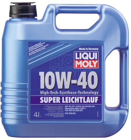 Λιπαντικό κινητήρα Liqui Moly Super Low Friction 10W40 4L