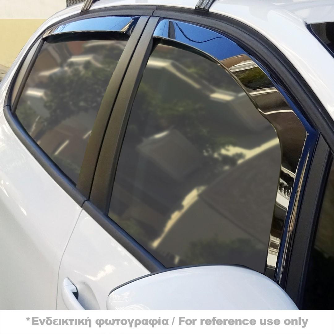 SEAT ALTEA 5D 06/2004+ / SEAT TOLEDO 2005+ ΣΕΤ ΑΝΕΜΟΘΡΑΥΣΤΕΣ ΑΥΤΟΚΙΝΗΤΟΥ ΑΠΟ ΕΥΚΑΜΠΤΟ ΦΙΜΕ ΠΛΑΣΤΙΚΟ HEKO - 4 ΤΕΜ.