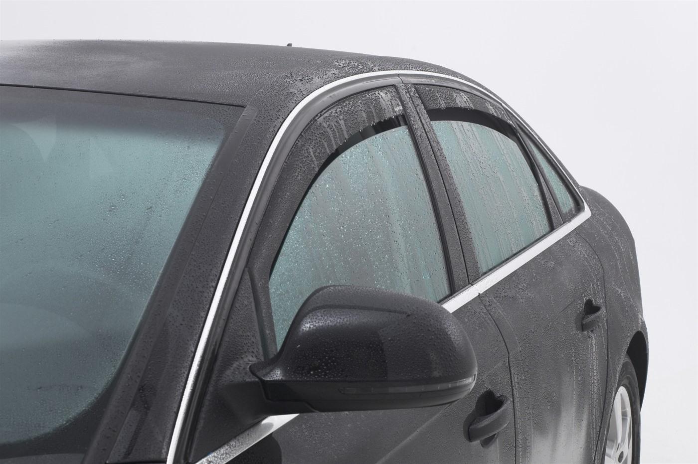 Ανεμοθραύστες Εμπρόσθιοι Chrysler Jeep Wrangler 2006-2018 3-5D 2τμχ Climair