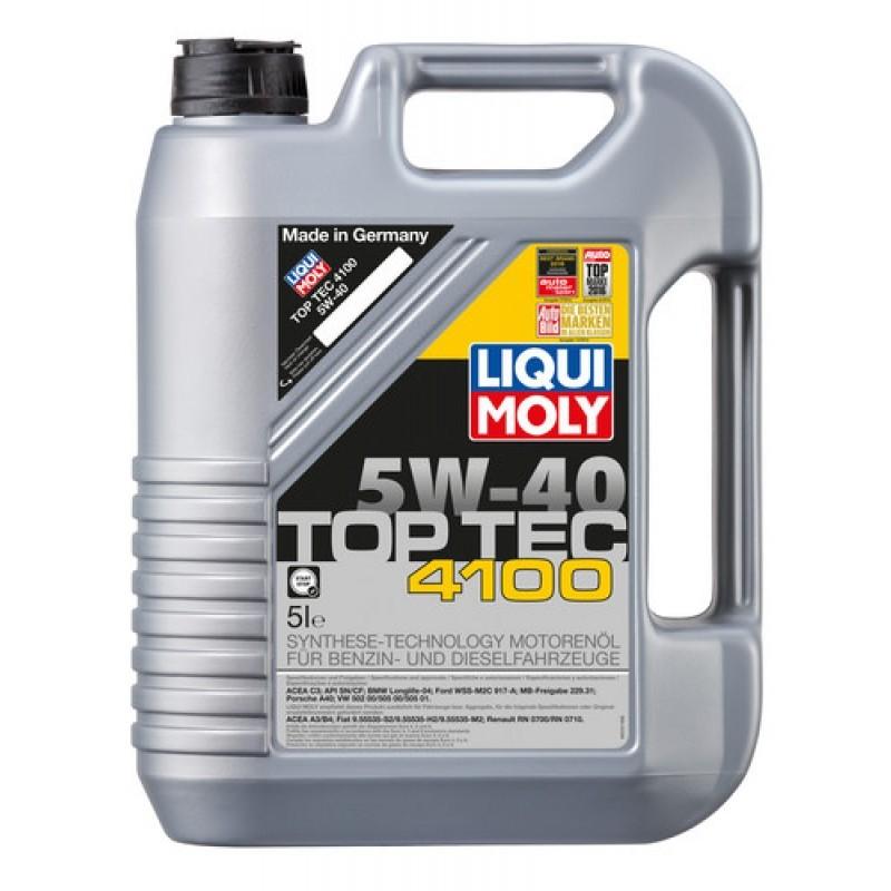 LIQUI MOLY TOP TEC 4100 5W-40 (LM9511) 5L