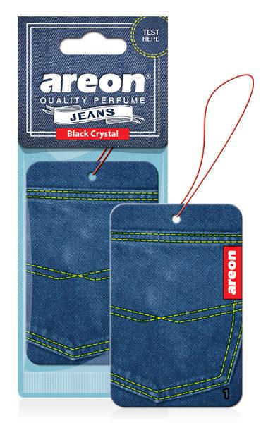 ΑΡΩΜΑΤΙΚΑ ΑΥΤΟΚΙΝΗΤΟΥ AREON – Black Crystal- Jeans