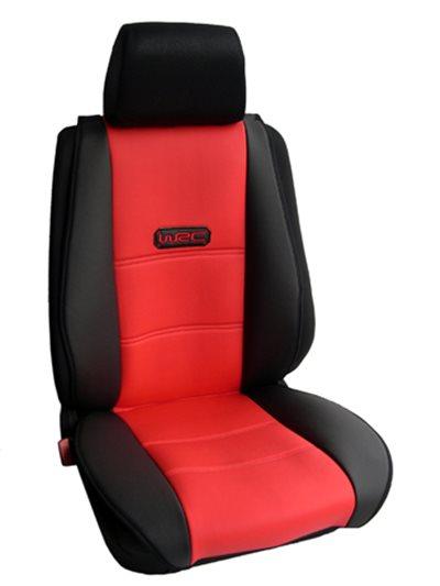 Πλατοκάθισμα Αυτοκινήτου Δερματίνη Coverstyle 2 τεμαχίων (οδηγού-συνοδηγού)