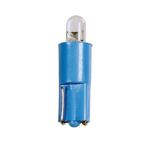 Lampa ΛΑΜΠΑΚΙ LED T3 24V W2x4.6d (Μπλε)