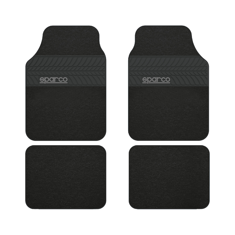 Μοκέτα Πατάκια Sparco SPC1909BK Black 4τμχ