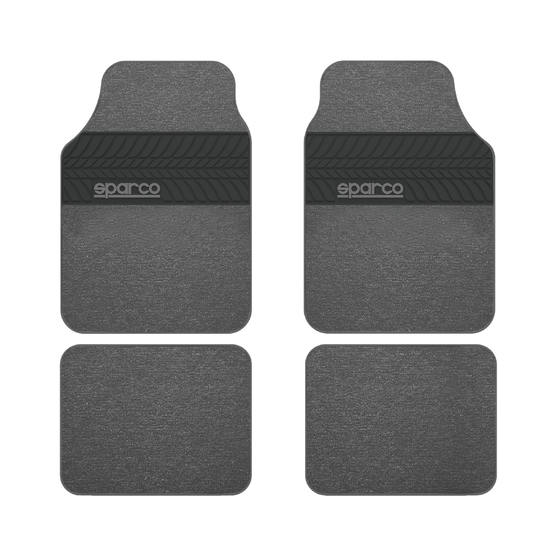 Μοκέτα Πατάκια Sparco SPC1909GR Grey 4τμχ