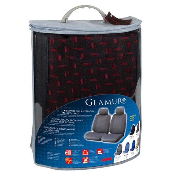 ΚΑΛΥΜΜΑΤΑ GLAMUR ΜΑΥΡΑ 2ΤΜΧ  POLYESTER L5498.0